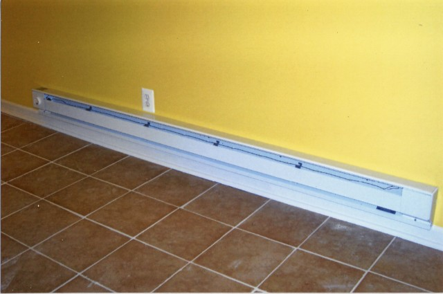 how to turn off baseboard heat in apartment